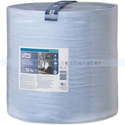 Putztuchrolle Tork starke Industrietücher 3-lgig 255 m blau