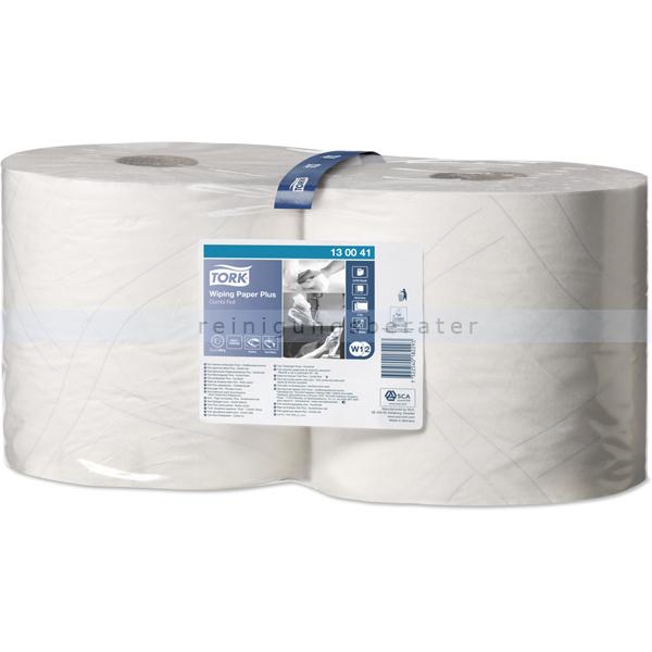 Putztuchrolle Tork starke Mehrzwecktücher 2-lagig 255 m weiß