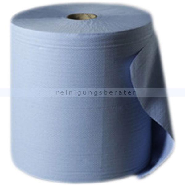 Putztuchrolle Wepa blau 3-lagig 38x35 cm