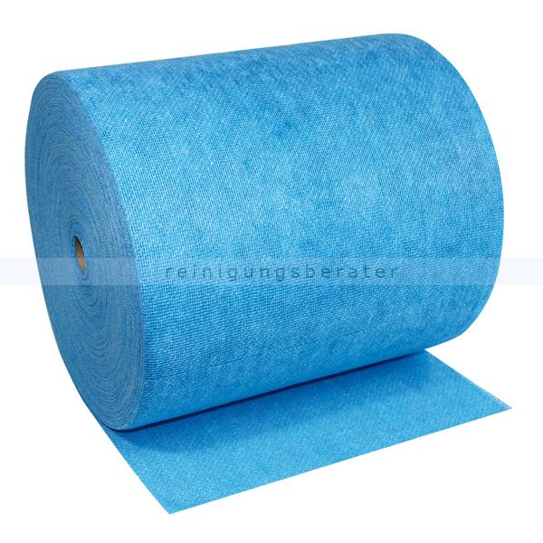 Putztuchrolle WIPEX-FSW SPEZIAL blau, Lebensmittelbereich