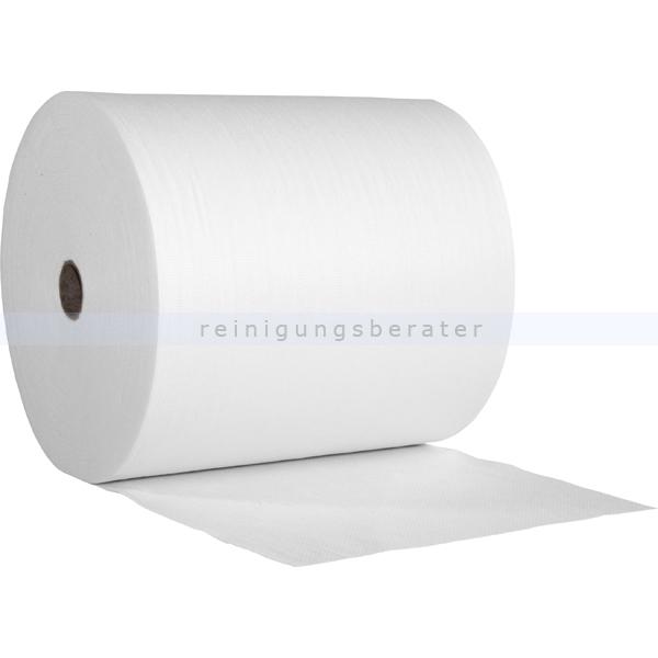 Putztuchrolle WIPEX-SPEZIAL Wisch-Poliertuch weiß 40 x 38 cm
