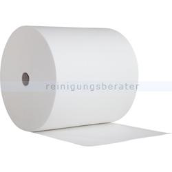 Putztuchrolle WIPEX-Vliesrolle AIRLAID MarS weiß, 40 x 38 cm