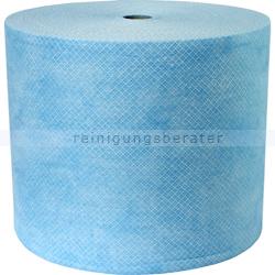 Putztuchrolle WIPEX Strong Vliestücher blau 30x38 cm