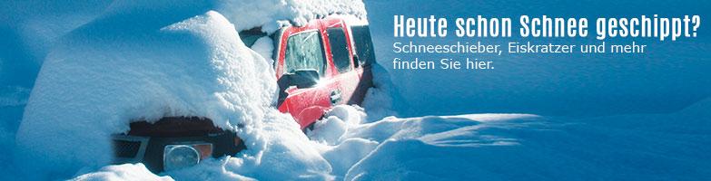 Winter, Eis & Frost - Winterartikel bei ReinigungsBerater.de