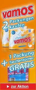 Fripa Vamos inklusive GRATIS Taschent�cher