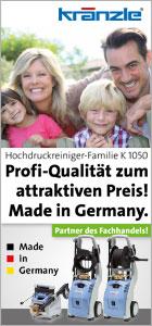 Hochdruckreiniger-Serie Kr�nzle 1050 bei www.reinigungsberater.de