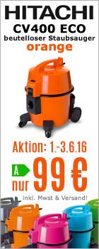 Hitachi CV400 ECO orange