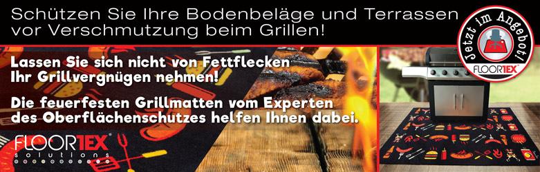 F�r Ihr BBQ - Grillmatten von Floortex