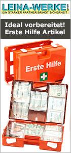 Erste Hilfe Sets von Leina Werke bei www.reinigungsberater.de