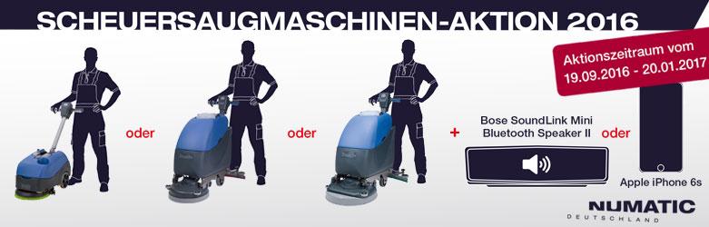 Numatic Scheuersaugmaschinen Aktion 2016 bei www.reinigungsberater.de