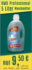 Flüssigwaschmittel Diversey OMO Professional Active Clean 5 L
