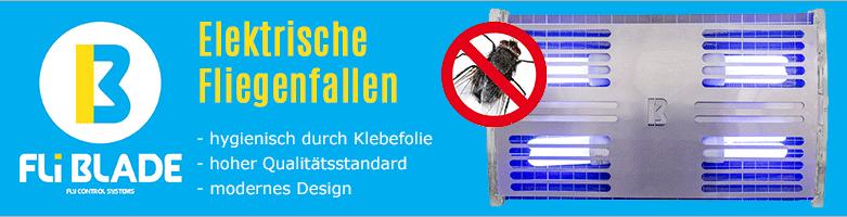 elektrische Insektenvernichter von FliBLADE bei www.reinigungsberater.de