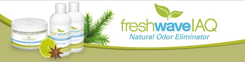 FreshWave - natürlicher Geruchsentferner bei ReinigungsBerater.de