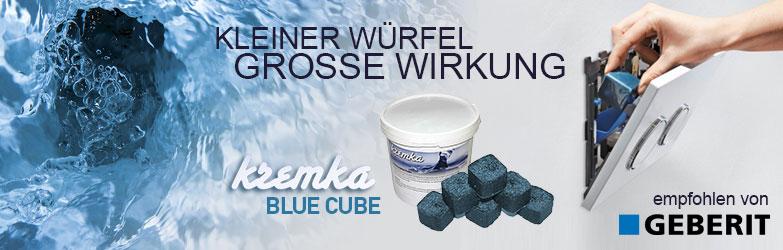 Kremka Blue Cube urinalwürfel