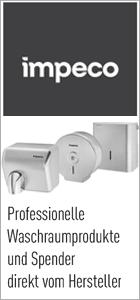 Impeco Spender und Waschraumprodukte