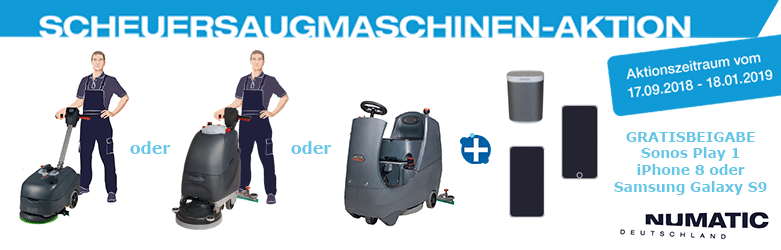Numatic SSM Aktion bei reinigungsberater.de