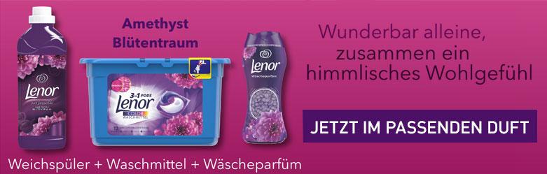 Lenor Aktion bei reinigungsberater.de