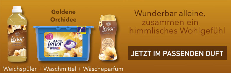 Lenor Aktion bei reinigungsberater.de