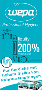 WEPA liquify Produkte bei ReinigungsBerater.de