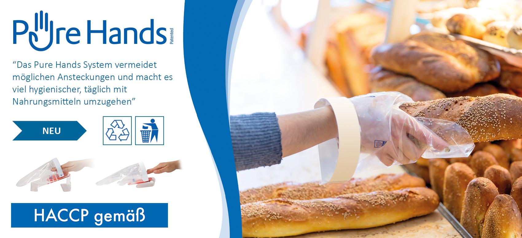 Pure Hands handschuhlösung bei www.reinigungsberater.de