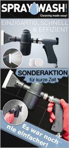 SprayWash System Click Drop and Spray bei www.reinigungsberater.de