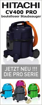 Die neue Hitachi CV 400 PRO Serie bei www.reinigungsberater.de