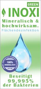 Flächendesinfektion Inoxi green bei www.reinigungsberater.de