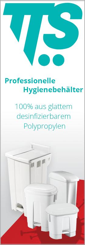 TTS Hygienebehälter bei www.reinigungsberater.de