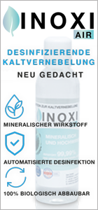 Inoxi Air Desinfektion bei www.reinigungsberater.de
