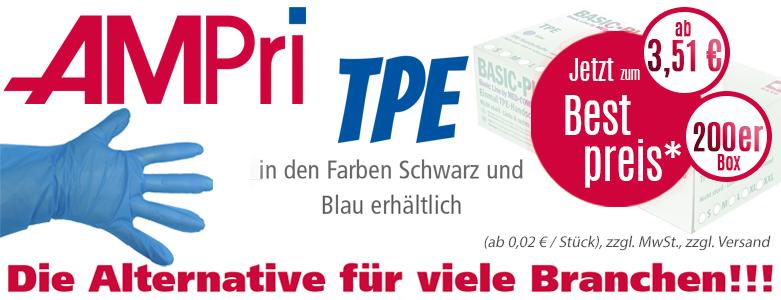 Ampri TPE Einmalhandschuhe bei ReinigungsBerater.de