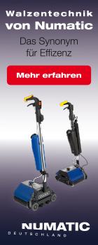 Numatic Duplex B�rstwalzenmaschinen bei www.reinigungsberater.de