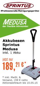 Akkubesen Sprintus Medusa