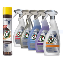 Reinigungsset Diversey Cif Professional 6-teilig