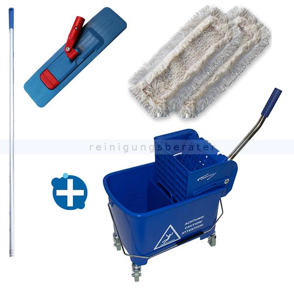 Reinigungswagen im Set Clean Track Mini Bucket 17 L im SET