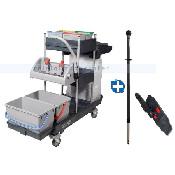 numatic procar 3g reinigungswagen mit mopphalter telestiel. Black Bedroom Furniture Sets. Home Design Ideas