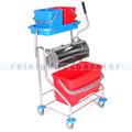 Reinigungswagen mit Flachpresse Floorstar FPW 1 Plus PATENT
