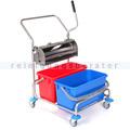 Reinigungswagen mit Flachpresse Floorstar FPW 2 ES PATENT