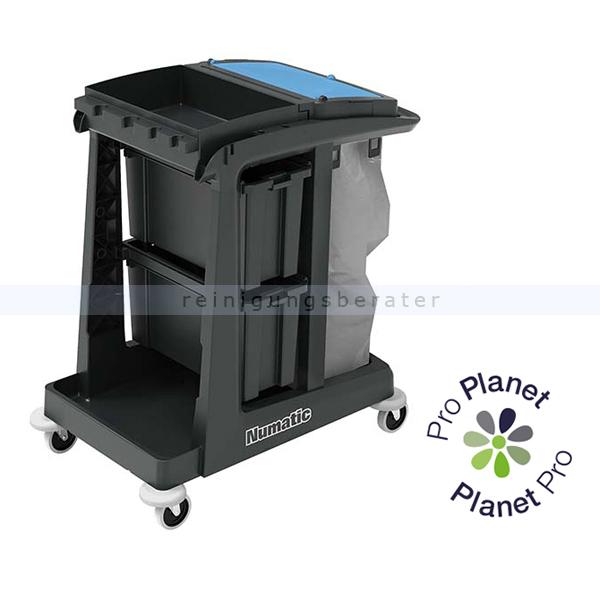 Reinigungswagen Numatic EcoMatic EM 2 Anteil von recyceltem Kunststoff: bis zu 97 % 909658