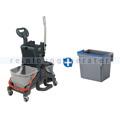 Reinigungswagen Numatic MidMop Plus mit extra Eimer 5 L blau