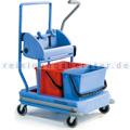 Reinigungswagen Numatic NCK 200, adaptierbar