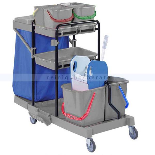Reinigungswagen ReinigungsBerater 2 x 18 L Kunststoff