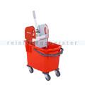 Reinigungswagen ReinigungsBerater Bucket 25 L rot