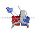 Reinigungswagen ReinigungsBerater Profi mit Korb 2 x 25 L