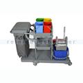 Reinigungswagen ReinigungsBerater Profi mit Presse 2 x 25 L