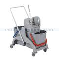 Reinigungswagen ReinigungsBerater Profi PE Kunststoff 2x25 L