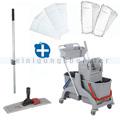 Reinigungswagen ReinigungsBerater Profi Set 2 mit Korb