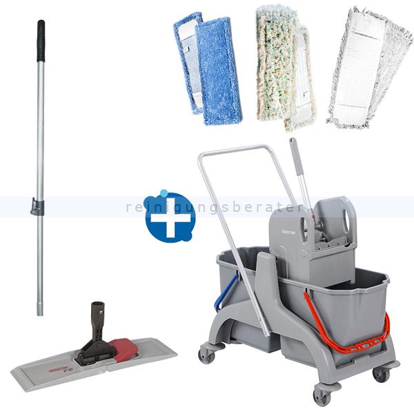 Reinigungswagen ReinigungsBerater Profi Set 5