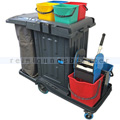 Reinigungswagen RMV Servicewagen PE Safety 2 x 18 L