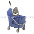 Reinigungswagen Rubbermaid Combo Bravo blau