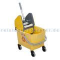 Reinigungswagen Rubbermaid Combo Bravo gelb
